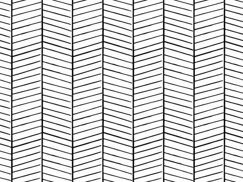 Hand drawn pattern texture repeating seamless monochrome, black and white
