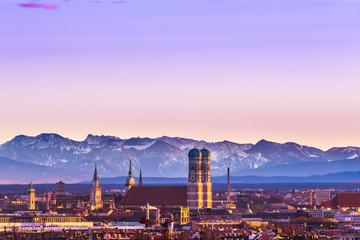 München Frauenkirche Panorama