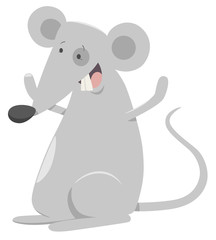 cartoon mouse animal character