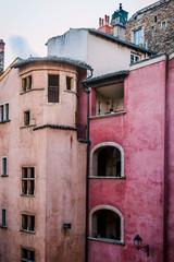Vue depuis le Musée Miniatures et Cinéma dans le Vieux Lyon