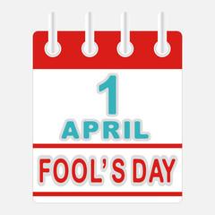 calendar icon 1 april fools day