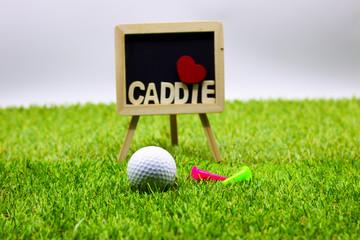 Golf with Caddie wording