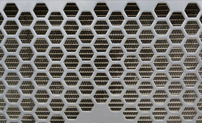 Grid of a car