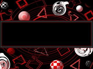 абстрактный фон в современном стиле в белых черных и красных тонах