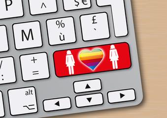 amour - cœur - homosexuel - lesbien - sexe - en ligne - site web