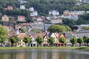ville portuaire de Bergen
