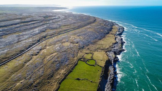 The Burren Coast Road, County Clare, Ireland