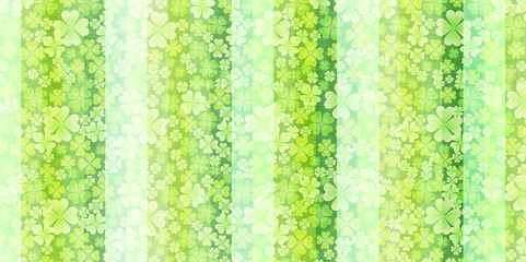 クローバー 新緑 葉 背景