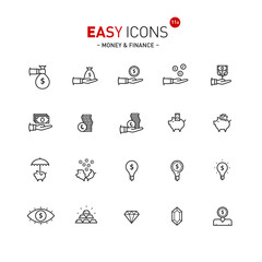 Easy icons 11a Money