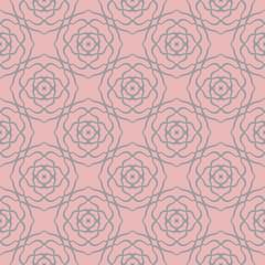 decoretive damask pattern background