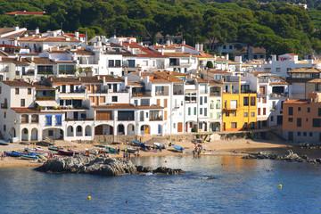 Costa Brava pueblo de Calella de Palafrugell en la provincia de Girona Cataluña España