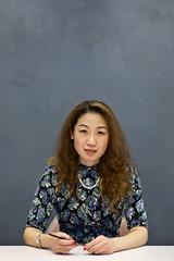 Portrait of a senior Chinese businesswoman
