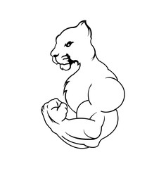 Strong Puma comic