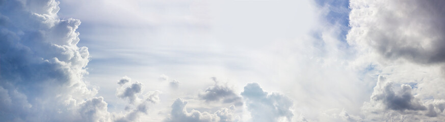 Epic Cloudy Blue Sky Panorama