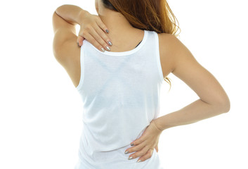 Women with waist pain and neck pain