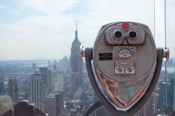 ニューヨークを望む