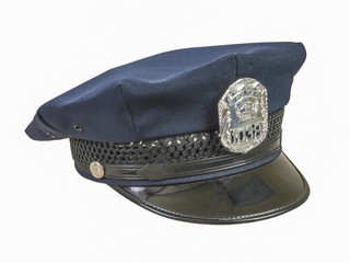 8 point police cap hat