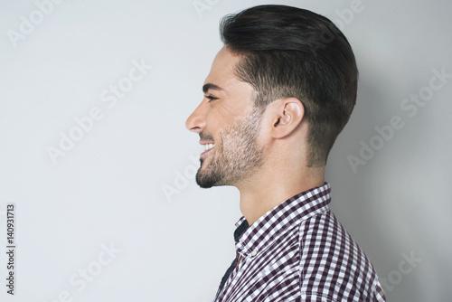 dark haired men