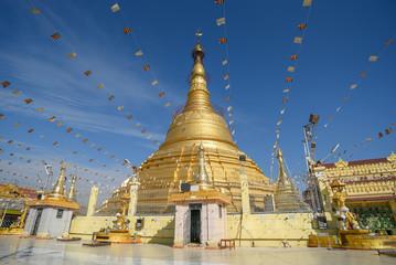 Botataung Pagoda in Yangon, Myanmar