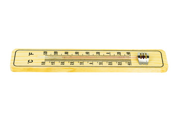 Thermometer Isolated on white background with Clipping path