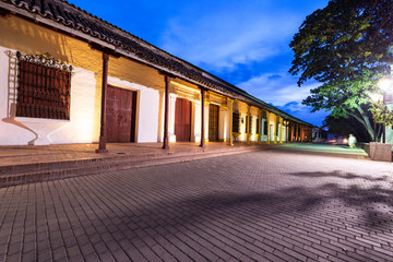 Fototapete - Mompox, Colombia at Night