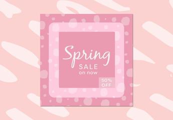 Social Media Branding Pack for Spring 1