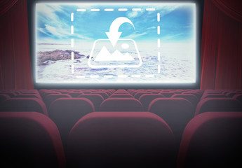 Movie Theatre Screen Mockup
