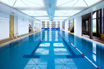 indoors swimming pool