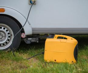 Generator am Wohnwagen