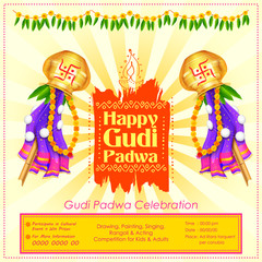Gudi Padwa celebration of India