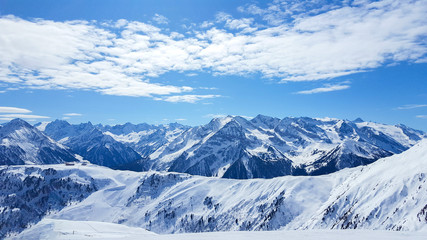 Skigebiet in Mayrhofen Tirol