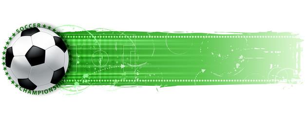 soccer goal banner