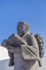 二宮金治郎の石像