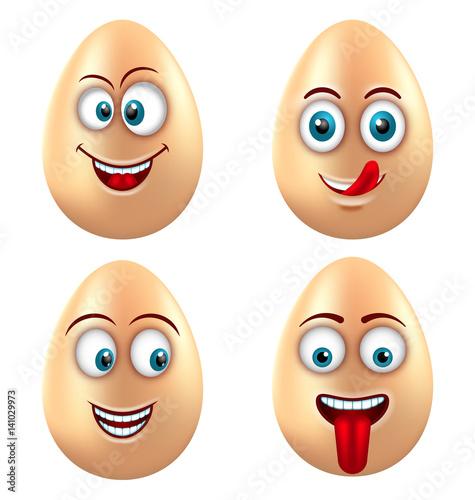 funny eggs emotion mood - photo #27