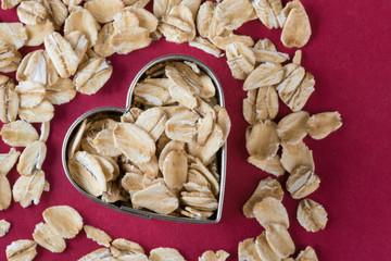 Heart healthy rolled oats