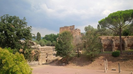 Villa Adriana, antiche rovine