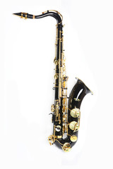 Black and Gold Tenor Saxophone