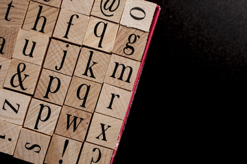 stamps - words letters