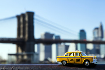 Yellow Taxi & New-York