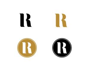 R Letter Logo Icon