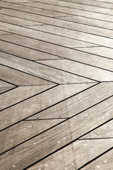 Wooden Deck Background