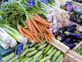 Auswahl an Gemüse