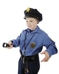 Shining Young Policeman