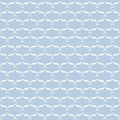 Template for wedding vintage background with lace and pearls