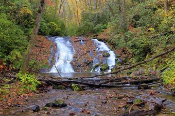 Indian Creek Falls, Great Smoky Mountains National Park, North Carolina