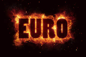 euro fire flames burn burning text explosion explode