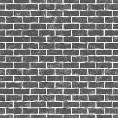 Brick wall background, illustration