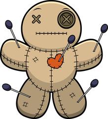 Calm Cartoon Voodoo Doll