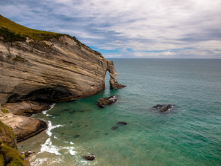 Wall Mural - Cape Farewell, Most westerly point of South Island, New Zealand