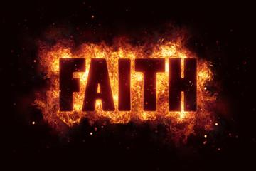 faith text religion flame flames fire burn burning